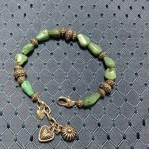 Brighton silver turquoise bracelet